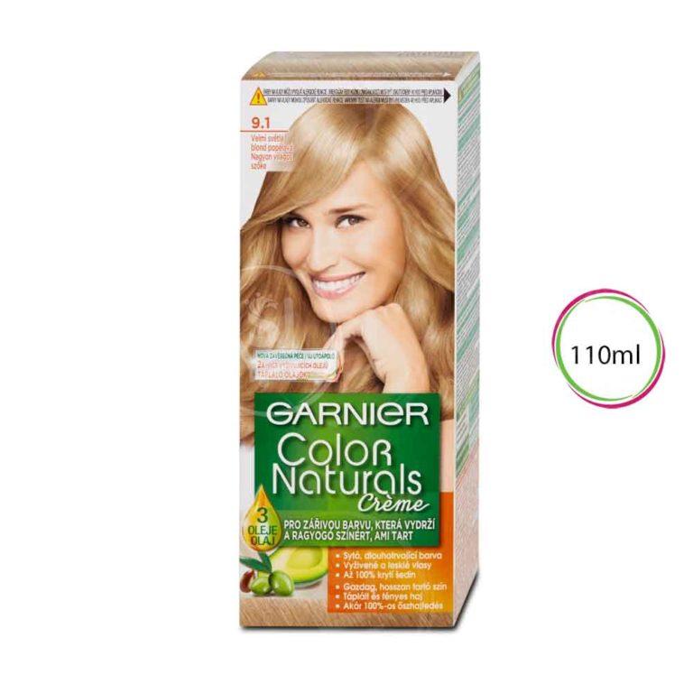 Ash Blonde shade 9.1