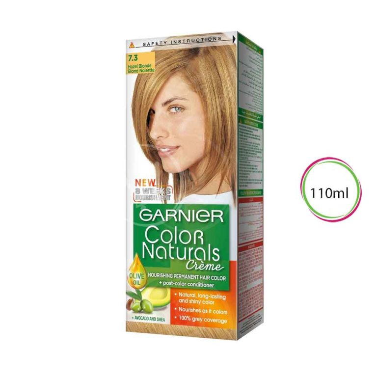 Hazel Blonde shade 7.3