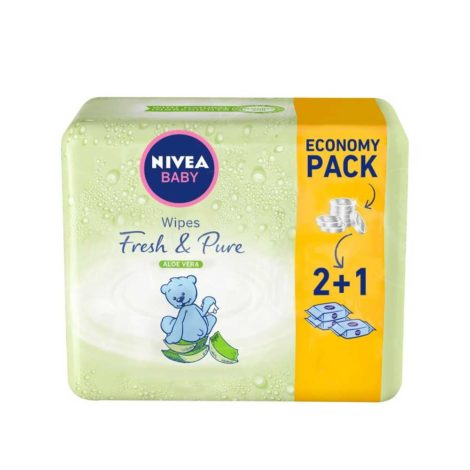 Nivea-Baby-Wipes-Fresh-and-Pure-63'sx3