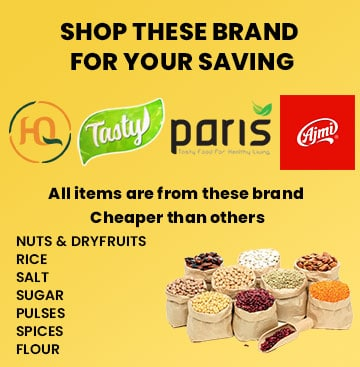 Supperkart Qatar online grocery store Shopo these brand for your saving
