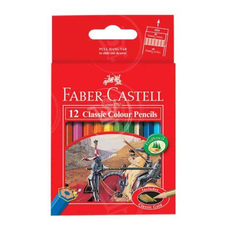 Faber-Castell-Classic-Colour-Pencils-12Pcs