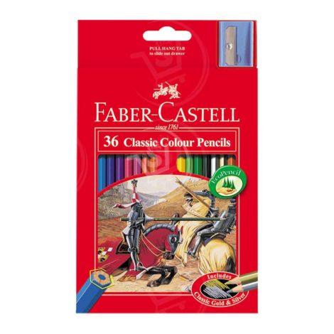 Faber-Castell Classic Colour Pencils 36Pcs