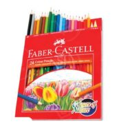 Faber-Castell Color Pencil 24 Piece