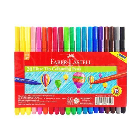 Faber-Castell-Fibre-Tip-Color-Pens-20Pcs