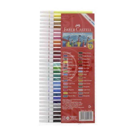 Faber-Castell-Fibre-Tip-Color-Pens-30Pcs