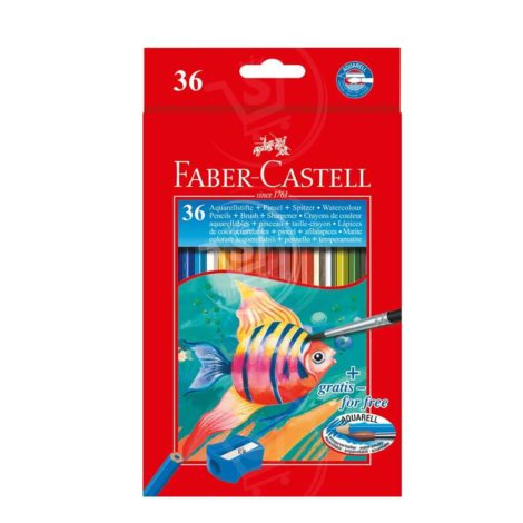 Faber-Castell Water Colour Pencils + Brush