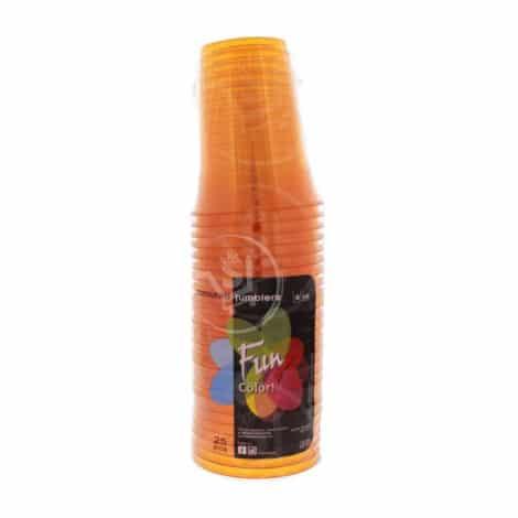 Fun-Coloured-Plastic-Cup-Orange