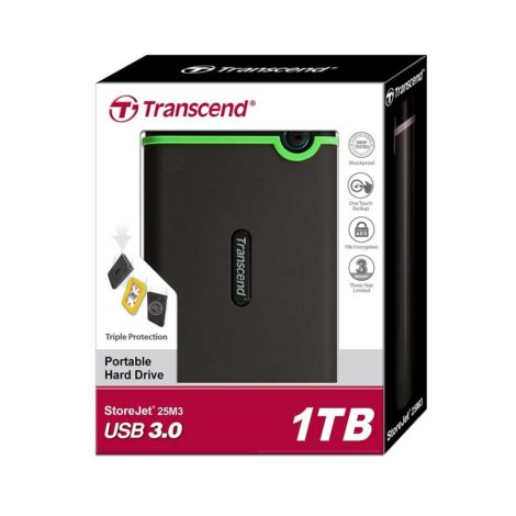 Transcend External HDD TS1TSJ25M3 1TB 3.0